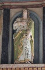 Chapelle Notre-Dame-de-Légevin -  Chapelle Notre-Dame-de-Légevin, statue de saint Jean