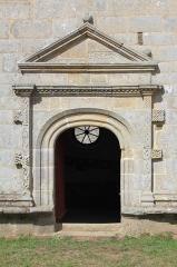 Chapelle Notre-Dame-de-Légevin -  Chapelle Notre-Dame-de-Légevin, porte sud
