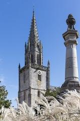 Eglise Notre-Dame-de-la-Joie -  Basilique Notre-Dame-de-la-Joie de Pontivy.