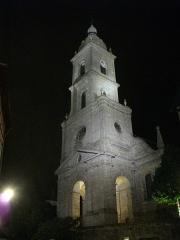Eglise Saint-Patern - Français:   Église Saint-Patern de Vannes (Morbihan, France) de nuit