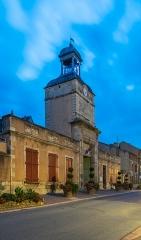 Hôtel de ville et beffroi - English:  Town hall of Aigueperse, Puy-de-Dôme, France