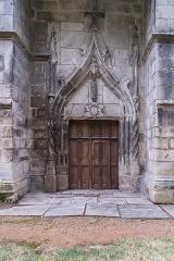 Sainte-Chapelle ou chapelle Saint-Louis - English:   Portal of the Saint Chapel in Aigueperse, Puy-de-Dôme, France