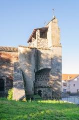 Eglise Saint-Félix - English:   Saint Felix church in Landos, Haute-Loire, France