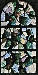 Eglise Saint-Jean-Baptiste - Français:   Forêts (L 110 x H 215)  Vitrail en dalle de verre et joint minéral Henri GUÉRIN – 1966 Église Saint-Jean-Baptiste - Retournac (Haute-Loire)  cliché de Jean-Pierre Farcy 2009