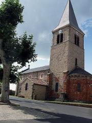 Eglise Saint-Beauzire - Français:   Église Saint-Beauzire de Saint-Beauzire (Haute-Loire, France).