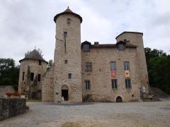 Ancien château ou château de Laroque -  Chateau des montals, pris depuis la tour est