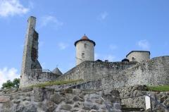 Ancien château ou château de Laroque -  Chateau de Laroquebrou