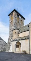 Eglise Saint-Martin - English:  Saint Martin church in Alpuech, Aveyron, France