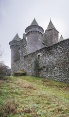 Château du Bousquet - English:  Bousquet Castle in commune of Montpeyroux, Aveyron, France