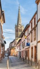 Eglise Saint-Jacques - English:  Saint James the Greater church in Muret, Haute-Garonne, France