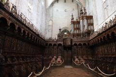 Ancienne cathédrale Notre-Dame -  Stalles Renaissance de la cathédrale Notre-Dame Saint-Bertrand-de-Comminges
