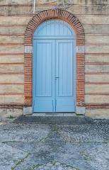 Eglise Notre-Dame - English:  Portal of the Our Lady church in Saubens, Haute-Garonne, France
