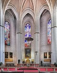 Eglise de la Dalbade - English:   Notre-Dame de la Dalbade  in Toulouse - Interior view of choir