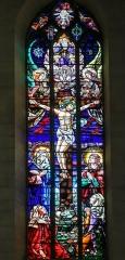 Eglise de la Dalbade - English:   Church Notre-Dame de la Dalbade in  Toulouse - Stained glass window of the crucifixion