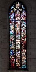 Eglise de la Dalbade - English:   Church Notre-Dame de la Dalbade in  Toulouse - Stained Glass of Nativity