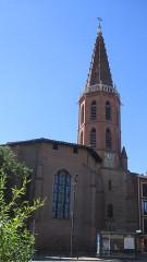 Eglise et ancien couvent des Minimes - Français:   L'église des Minimes, Avenue des Minimes, Toulouse