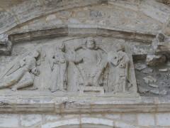 Ancienne église Saint-Martin et son beffroi - Deutsch:  Ancienne église Saint-Martin (Souillac, Lot) Tympanon