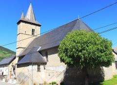Eglise - Français:   Église Saint Saturnin d\'Asté (Hautes-Pyrénées)