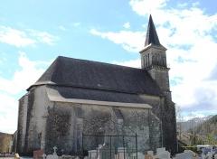 Eglise Saint-Saturnin - Français:   Église Saint-Saturnin de Pouzac (Hautes-Pyrénées)