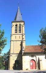 Eglise de l'Assomption - Français:   Église de l\'Assomption de Sariac-Magnoac (Hautes-Pyrénées)