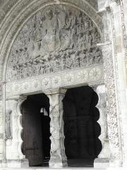 Ancienne abbaye de Moissac -  Porche méridional de l'abbatiale Saint-Pierre de moissac (82).