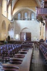 Eglise Saint-Pierre et son cloître -  Église Saint-Pierre de Moissac, stalles