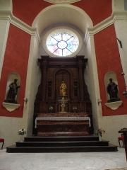 Cathédrale Notre-Dame de l'Assomption -  Chapelle absidale de la cathédrale Notre-Dame-de-l'Assomption de Montauban (82).