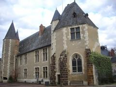 Château - Français:   Château des Stuarts, à Aubigny-sur-Nère (Cher, France)