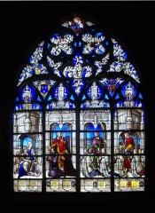 Cathédrale Saint-Etienne - Français:   Vitrail de la cathédrale Saint-Étienne de Bourges (Cher, France)