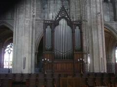 Cathédrale Saint-Etienne -  Cathédrale Saint-Étienne de Bourges (Cher, France), orgue