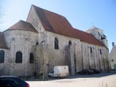 Eglise collégiale Saint-Martin -  Cher Lere Eglise Saint-Martin 06042010