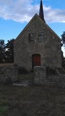 Eglise Saint-Ursin (ancienne église Saint-Vasin) - Français:   Église Saint-Ursin de Serruelles.