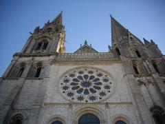Cathédrale Notre-Dame -  Cathédrale Notre-Dame de Chartres (Eure-et-Loir, France): façade