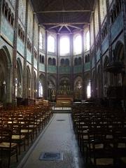 Eglise Saint-Aignan -  Intérieur de l'église Saint-Aignan de Chartres (Eure-et-Loir, France)