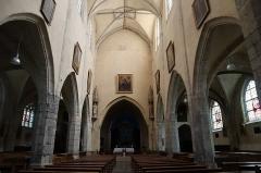Eglise Saint-Etienne - Français:   Intérieur de l\'église Saint-Étienne de Janville (28).