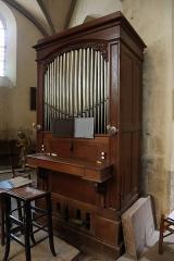Eglise Saint-Etienne - Français:   Intérieur de l\'église Saint-Étienne de Janville (28). Orgue.