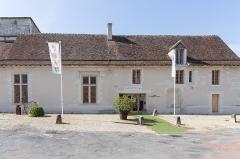 Ensemble castral - Français:   Ensemble castral de Châtillon-sur-Indre: salle Jeanne de France, place du Vieux Château.