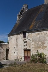 Ensemble castral - Français:   Ensemble castral de Châtillon-sur-Indre: place du Vieux Château.