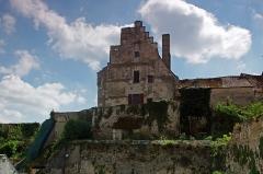 Ensemble castral -   Châtillon-sur-Indre (Indre)  Ensemble castral (à  partir de fin 12ème).