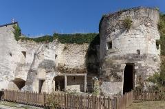 Ensemble castral - Français:   Ancienne porte du château de Châtillon-sur-Indre, 38 rue Isorée.