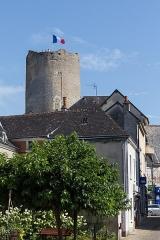 Ensemble castral - Français:   La Tour de César à Châtillon-sur-Indre.