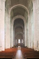 Eglise Notre-Dame - Français:   Église Notre-Dame de Châtillon-sur-Indre: la nef.