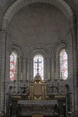 Eglise Notre-Dame - Français:   Église Notre-Dame de Châtillon-sur-Indre: le maître-autel.
