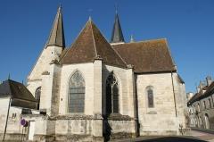 Eglise Sainte-Marie-Madeleine - Français:   Église Sainte-Marie-Madeleine de Mézières-en-Brenne (Indre, France).