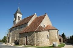 Eglise Saint-Martin de Vicq - Français:   Église Saint-Martin de Vic (Indre, France).