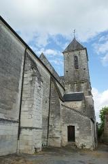 Ancienne collégiale Sainte-Menehould, actuelle église Saint-Sulpice - Français:   Église Saint-Sulpice de Palluau-sur-Indre (Indre, France).