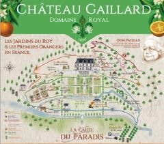 Château Gaillard - Français:   Plan domaine de Château Gaillard Amboise