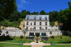 Château Gaillard - Français:   Vue générale du Château depuis les grands parterres