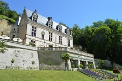 Château Gaillard - Français:   Vue latérale du château