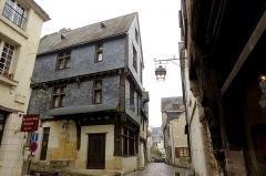 Maison à pans de bois -  Les châteaux de la Loire.